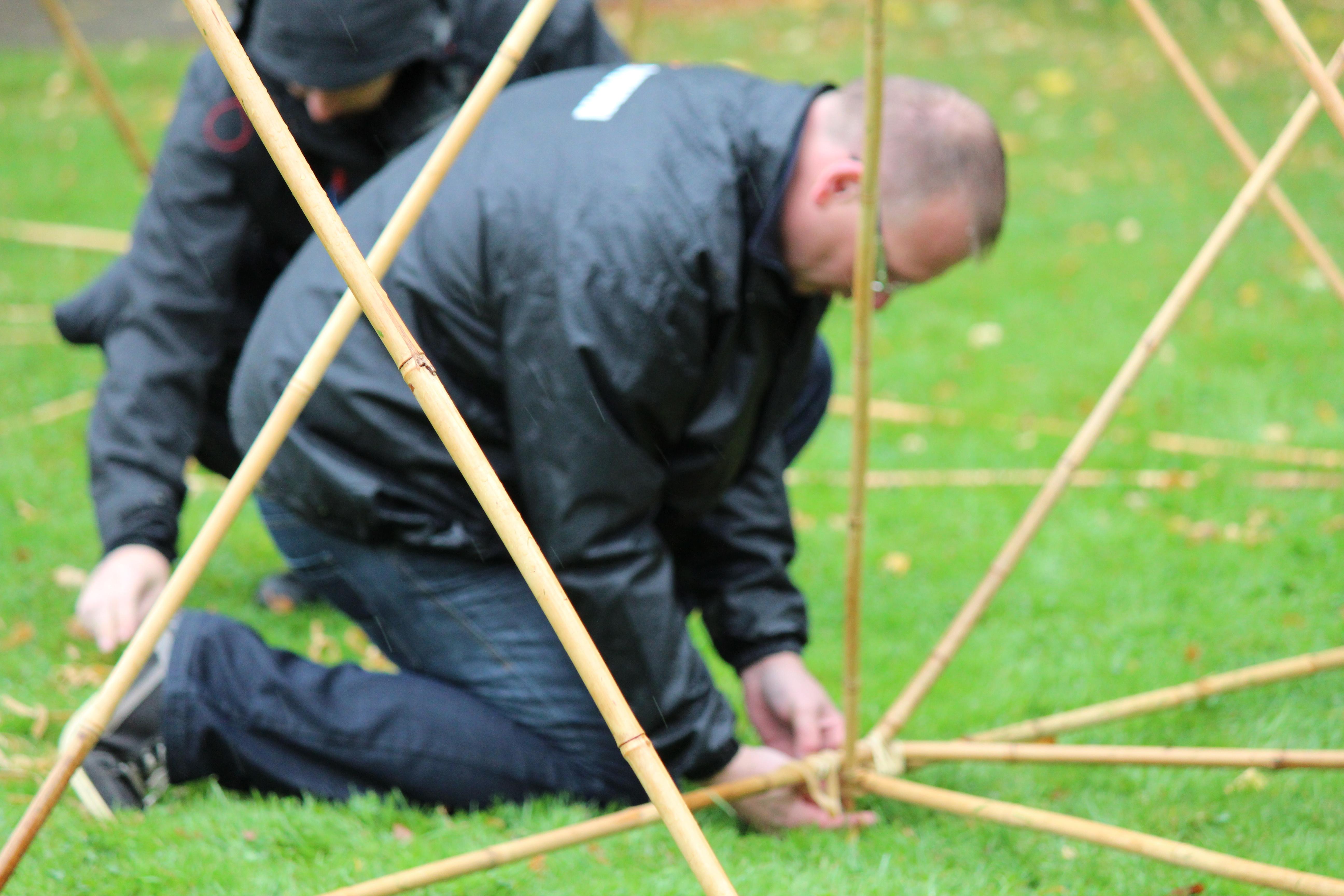Bamboe building een betere samenwerking b b adventure